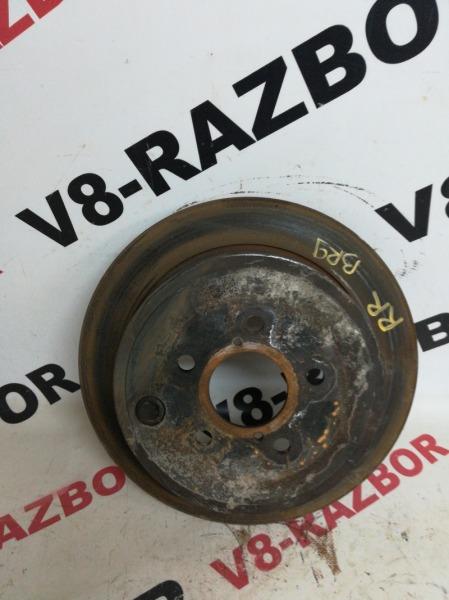 Тормозной диск Subaru Outback BR9 EJ253 2010 задний