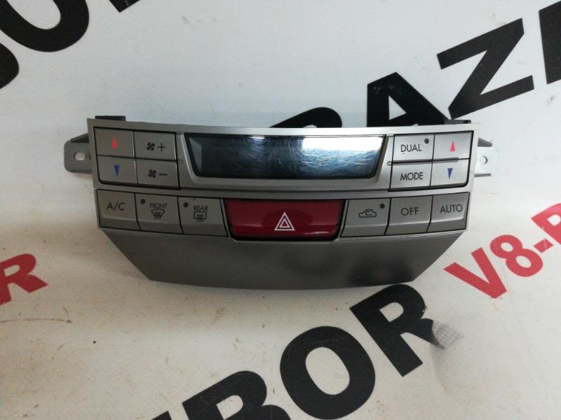 Блок управления климат-контролем Subaru Outback BRF EZ36D 2010
