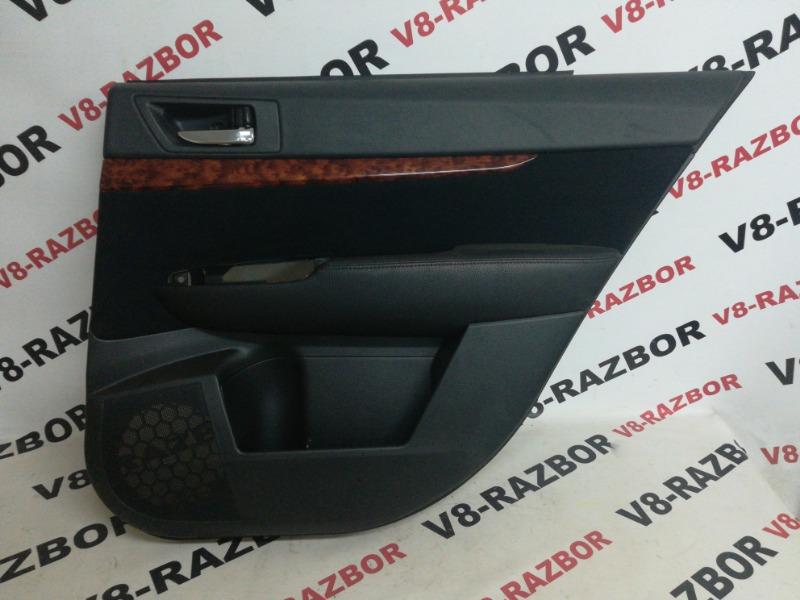 Обшивка двери Subaru Outback BRF EZ36D 2010 задняя правая