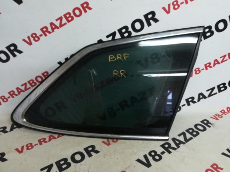 Стекло собачника Subaru Outback BRF EZ36D 2010 заднее правое