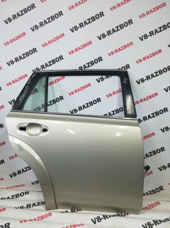 Дверь Subaru Outback BR9 EJ253 2009 задняя правая