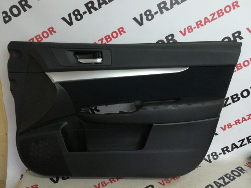 Обшивка двери Subaru Outback BR9 EJ253 2009 передняя правая