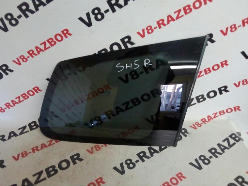 Стекло собачника Subaru Forester SH5 EJ205 2008 заднее правое