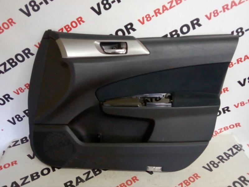 Обшивка двери Subaru Forester SH5 EJ205 2008 передняя правая