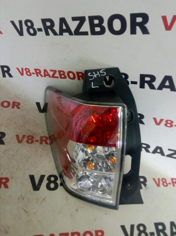 Стоп-сигнал Subaru Forester SH5 EJ205 2008 задний левый