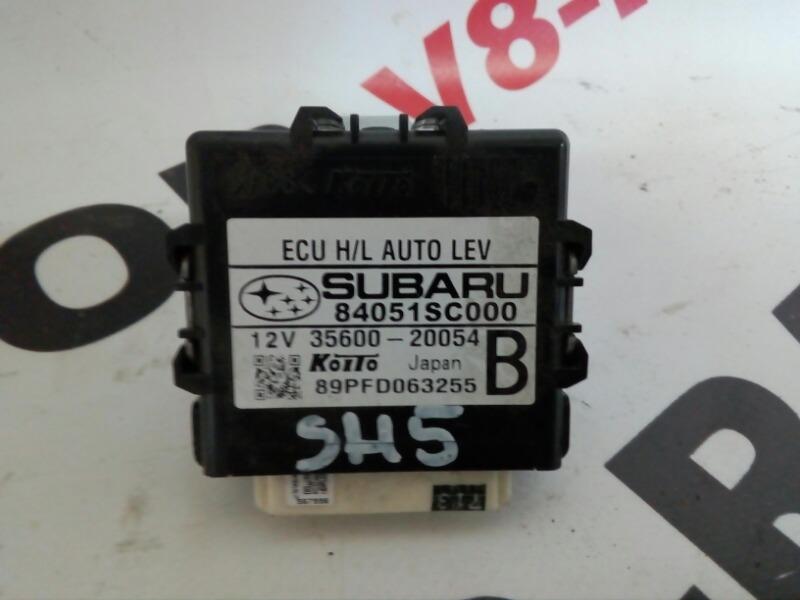 Блок управления корректором фар Subaru Forester SH5 EJ205 2008