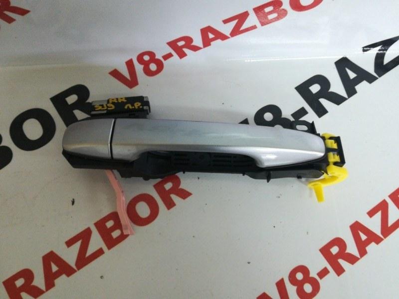 Ручка двери внешняя Subaru Forester SJ FA20F 2014 задняя правая