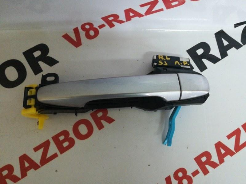 Ручка двери внешняя Subaru Forester SJ FA20F 2014 задняя левая