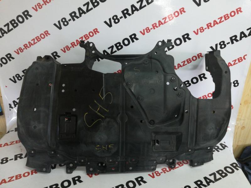 Защита двигателя Subaru Forester SH5 EJ204 2008