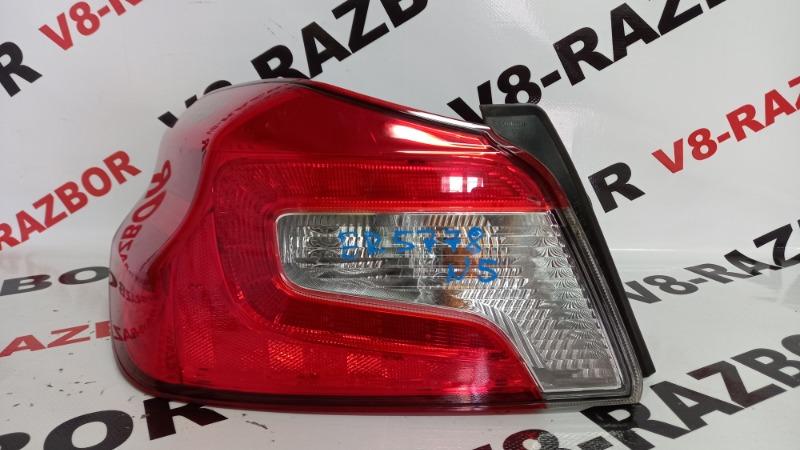 Стоп-сигнал Subaru Impreza Wrx VA 20F 2015 задний левый