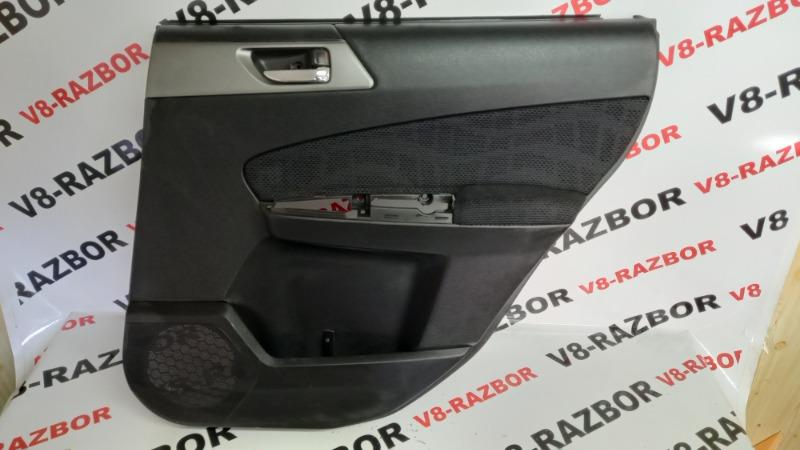 Обшивка двери Subaru Forester SHJ FB20A 2010 задняя правая
