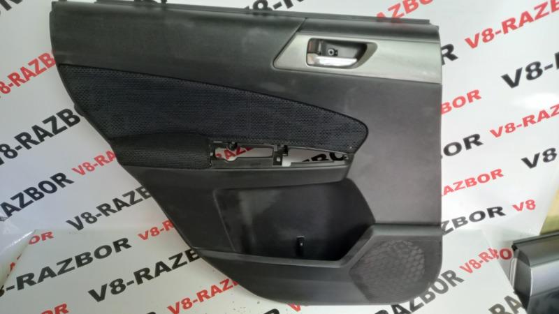 Обшивка двери Subaru Forester SHJ FB20A 2010 задняя левая