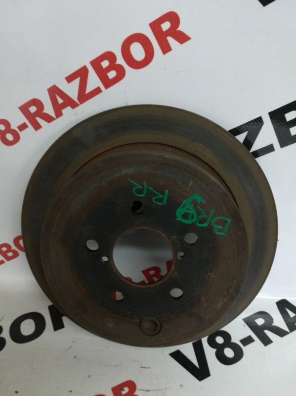 Тормозной диск Subaru Outback BR9 EJ253 2009 задний