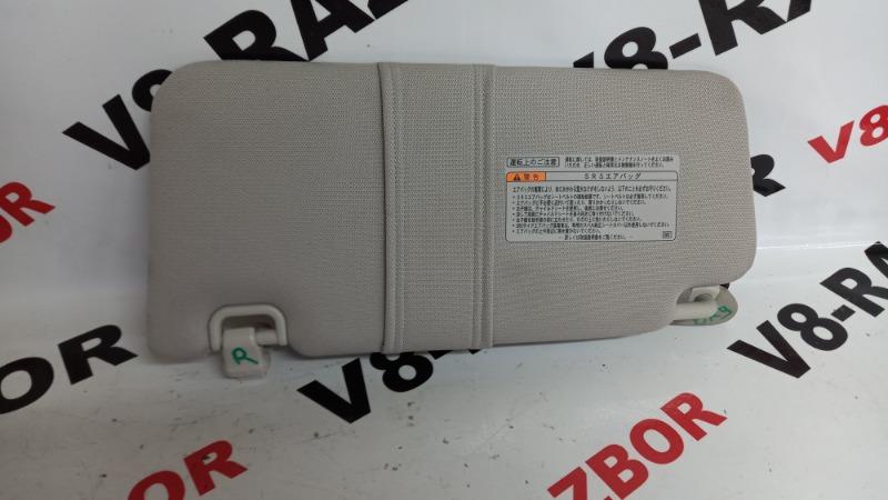Козырек солнцезащитный Subaru Outback BR9 EJ253 2009 правый