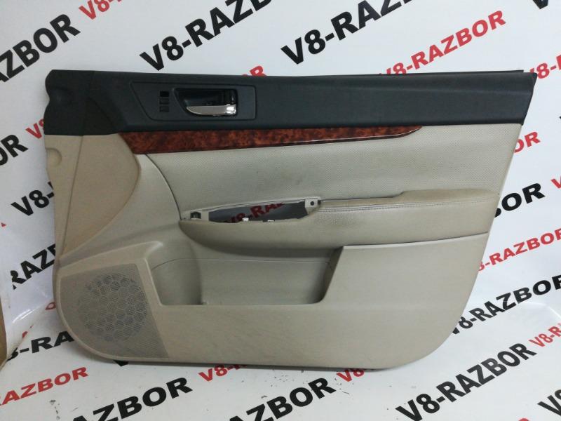 Обшивка двери Subaru Outback BR9 EJ253 2009