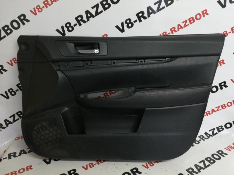 Обшивка двери Subaru Outback BR9 EJ253 2011 передняя правая