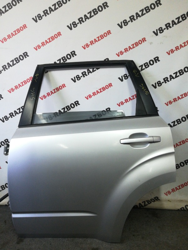 Дверь Subaru Forester SH5 EJ204 2009 задняя левая