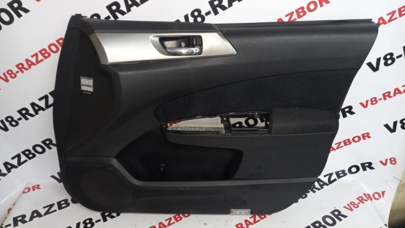 Обшивка двери Subaru Forester SH5 EJ204 2009 передняя правая