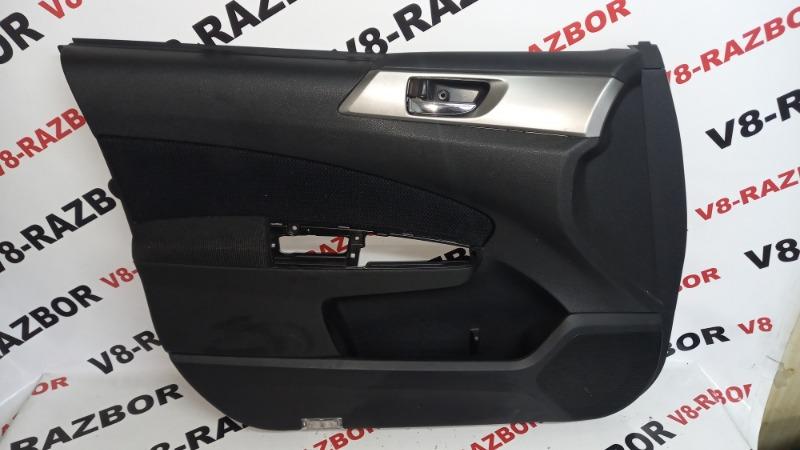 Обшивка двери Subaru Forester SH5 EJ204 2009 передняя левая