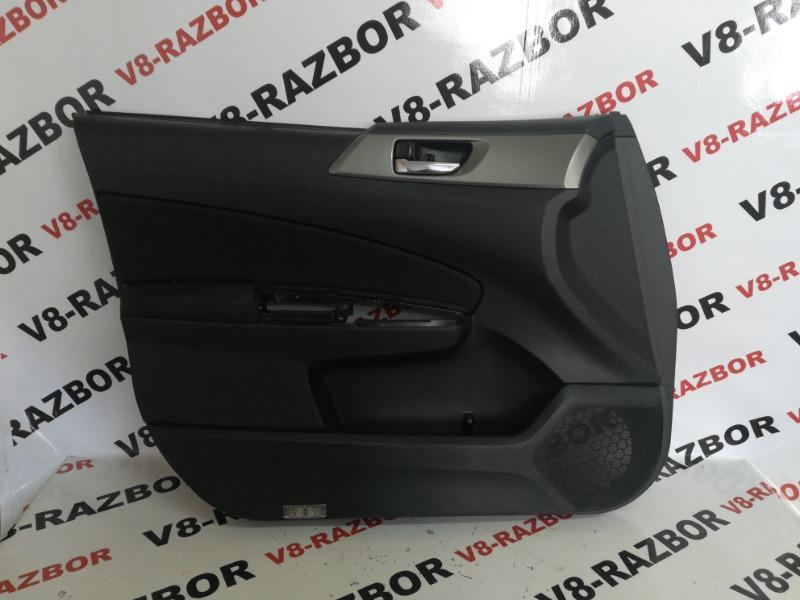 Обшивка двери Subaru Forester SH5 EJ204 2010 передняя левая