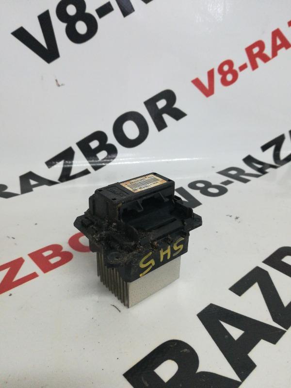 Реостат печки Subaru Forester SH5 EJ204 2009