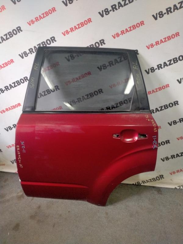 Дверь Subaru Forester SHA FB25B 2012 задняя левая