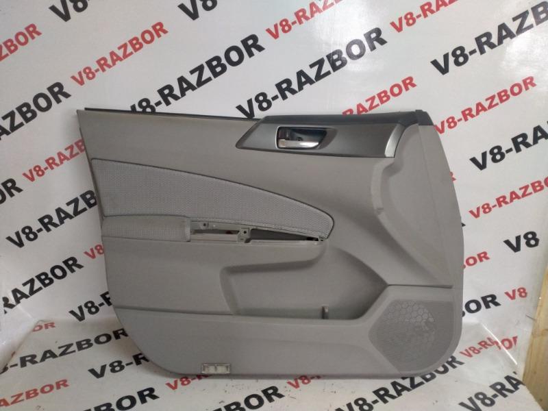 Комплект обшивок двери Subaru Forester SHA FB25B 2012