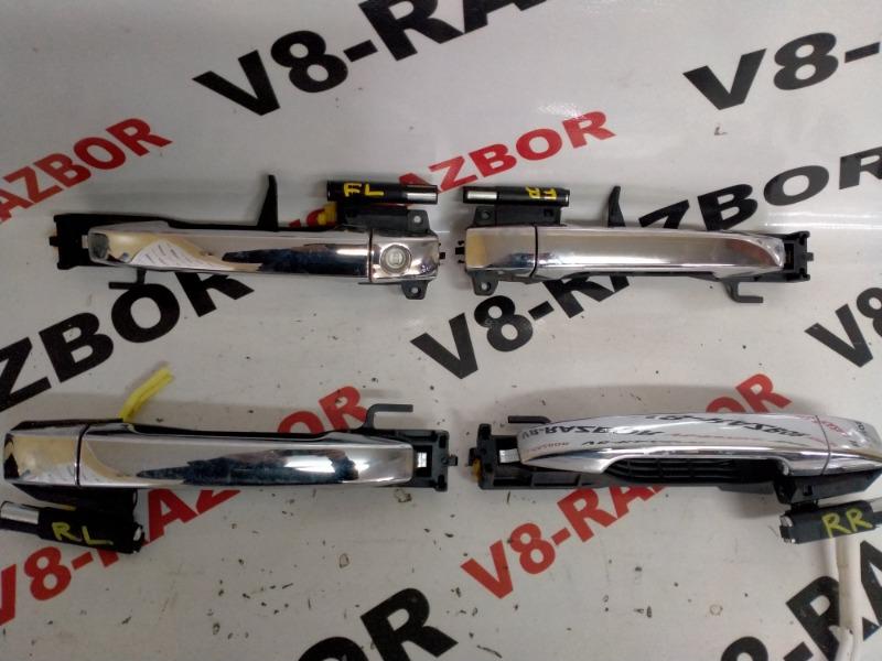 Ручка двери внешняя Subaru Forester SHA FB25B 2012