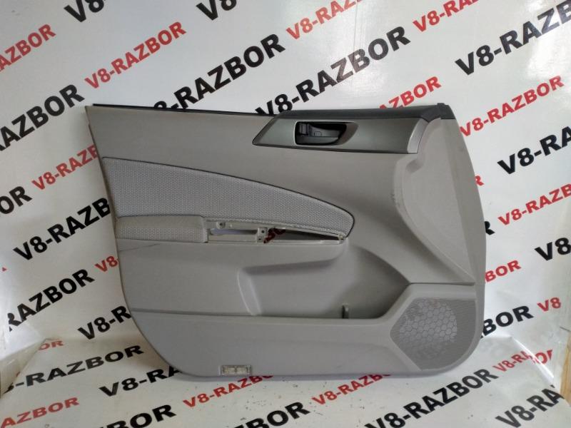 Комплект обшивок двери Subaru Forester SHA FB25B 2010