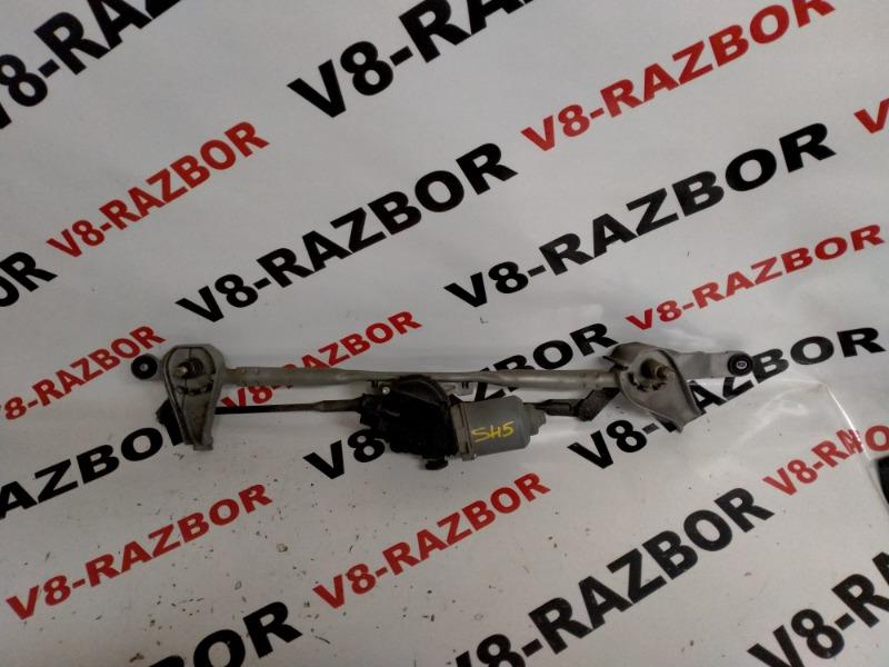 Механизм стеклоочистителя Subaru Forester SH5 EJ204 2010