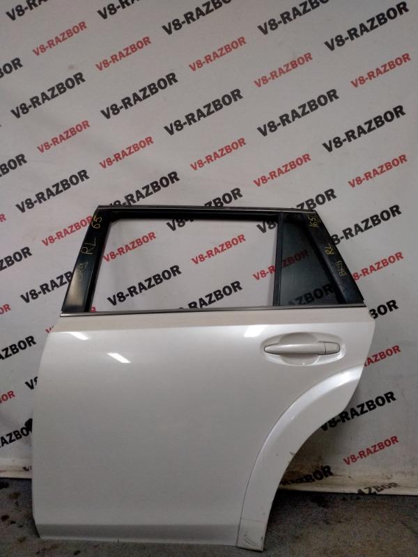 Дверь Subaru Outback BR9 EJ253 2010 задняя левая