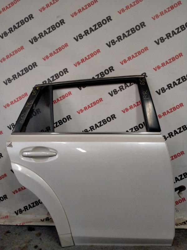 Дверь Subaru Outback BR9 EJ253 2010 задняя правая
