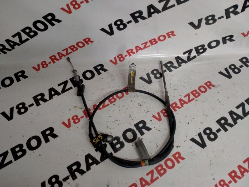 Трос ручника Subaru Forester SH5 EJ205 2008 задний левый