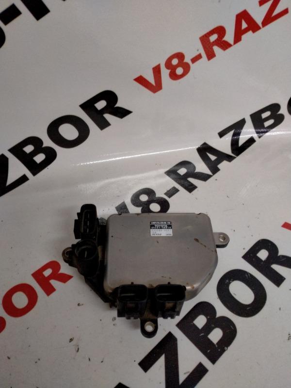 Блок управления вентилятором Toyota Harrier MCU15 1MZFE 2001
