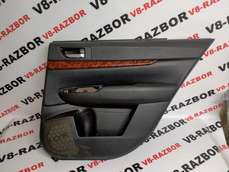 Обшивка двери Subaru Outback BR9 EJ253 2010 задняя правая