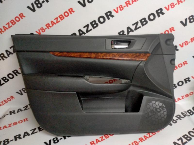 Обшивка двери Subaru Outback BR9 EJ253 2010 передняя левая