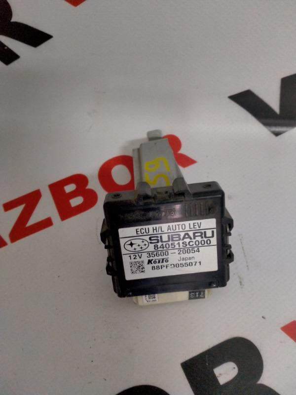Блок управления фарами Subaru Forester SH5 EJ204 2010