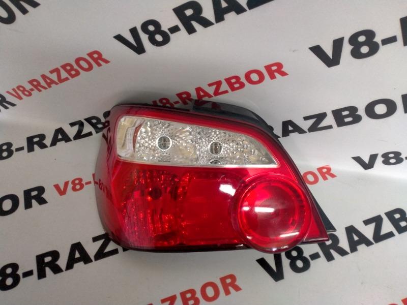 Стоп-сигнал Subaru Impreza GG2 2003 задний левый