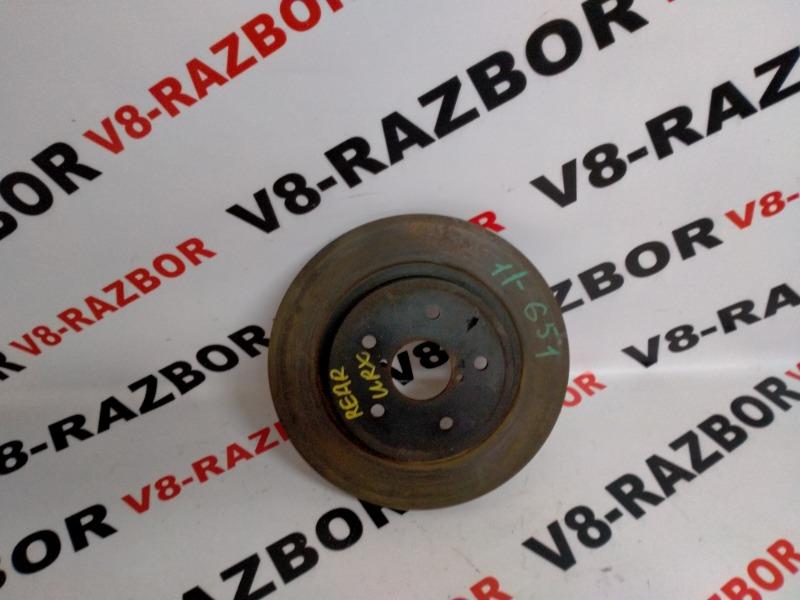 Тормозной диск Subaru Impreza Wrx VA 20F 2015 задний