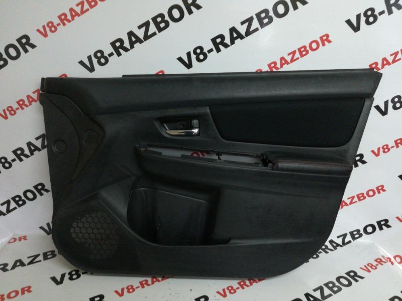 Обшивка двери Subaru Impreza Wrx VA 20F 2015 передняя правая