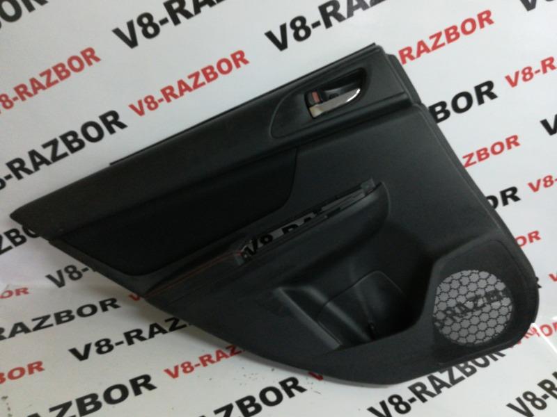 Обшивка двери Subaru Impreza Wrx VA 20F 2015 задняя левая