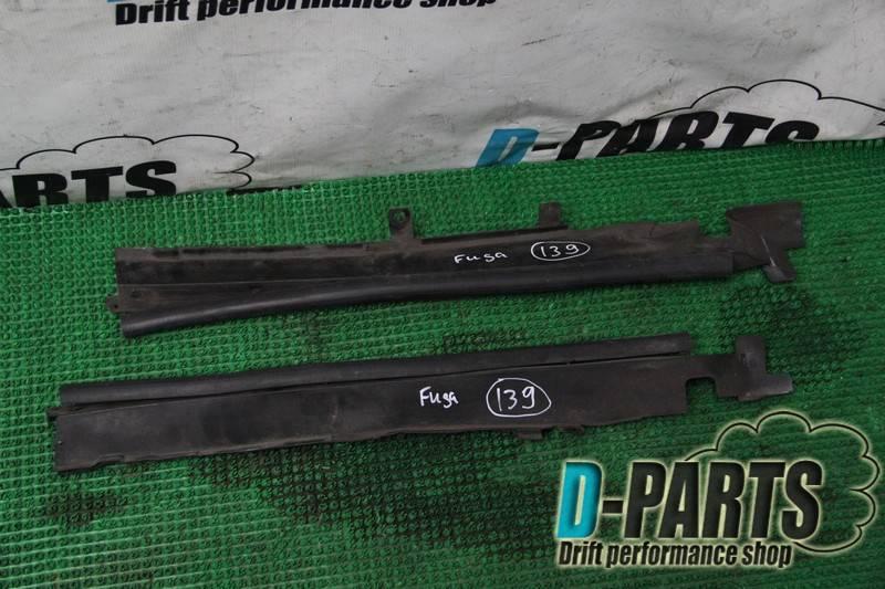 Уплотнительная резинка капота Nissan Fuga PY50