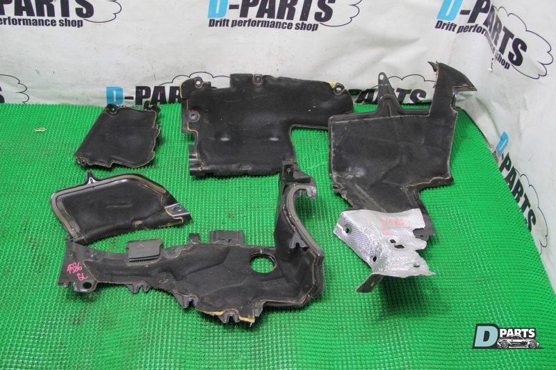 Накладка моторного щита Mercedes Gl-Class X164 273.963 30 077680 2007