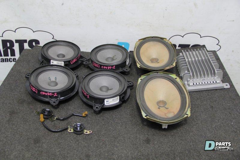Динамики комплект Nissan Skyline CPV35-501877 VQ35DE 2004
