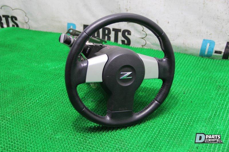 Руль с airbag Nissan Fairlady Z Z33-201383 VQ35DE 2003