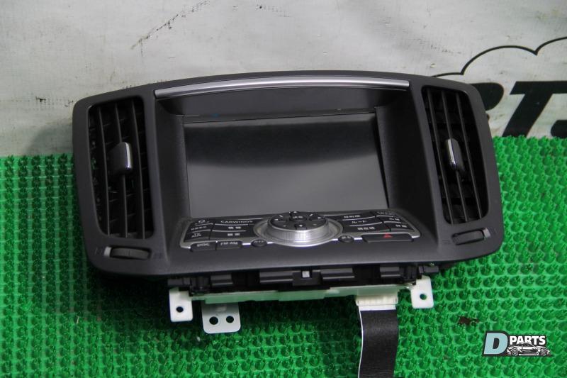 Блок управления навигацией Nissan Skyline PV36-204611 VQ35HR
