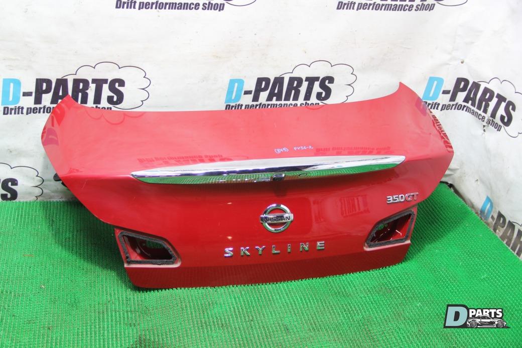 Крышка багажника Nissan G35 PV36-203166 VQ35HR 2007