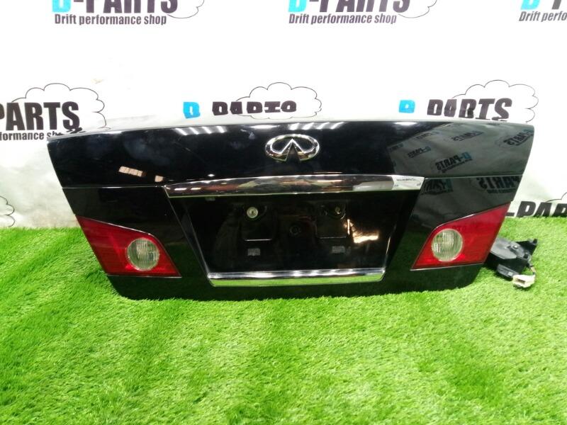 Крышка багажника Nissan Fuga PY50-217632 VQ35DE 2005