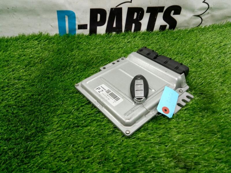 Блок управления двс Nissan Fuga PY50-217632 VQ35DE 2005