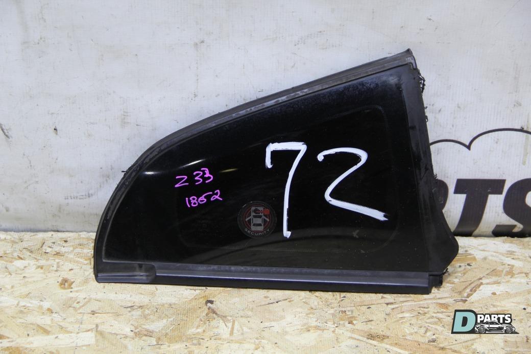 Форточка кузова Nissan Fairlady Z Z33-403281 VQ35DE 2003 правая